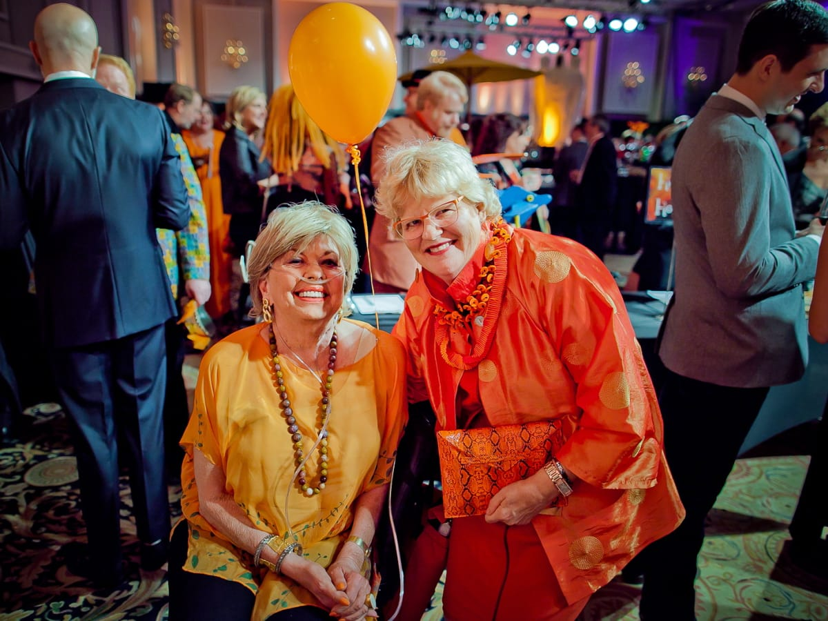 Orange Show Gala Stephanie Smither, Gewen Goffe