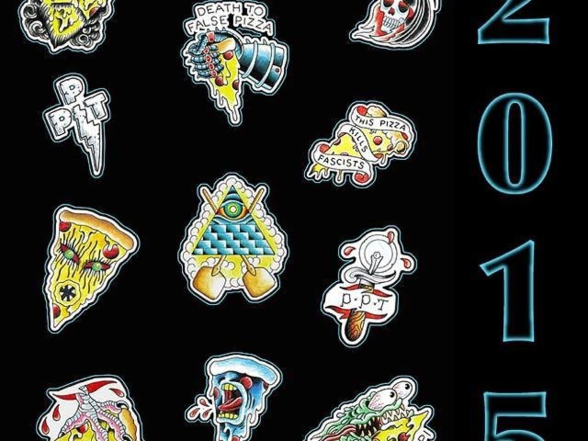 Pi Pizza Truck tattoos 2015