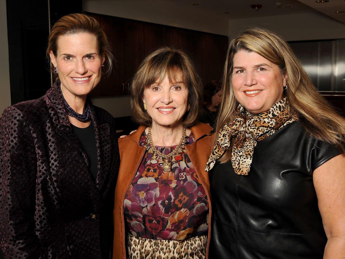 HGO Ladies Lunch Emily VanHouten, Donna Josey Chapman and Donna Kurka