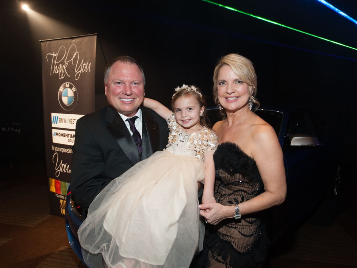 News, SHelby, Houston Children's Charity gala, NOv. 2015, Melissa, Scarlette & Brad Juneau