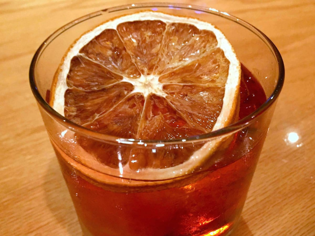 Houston, drink trends, November 2015, Bellows Negroni at Prohibition