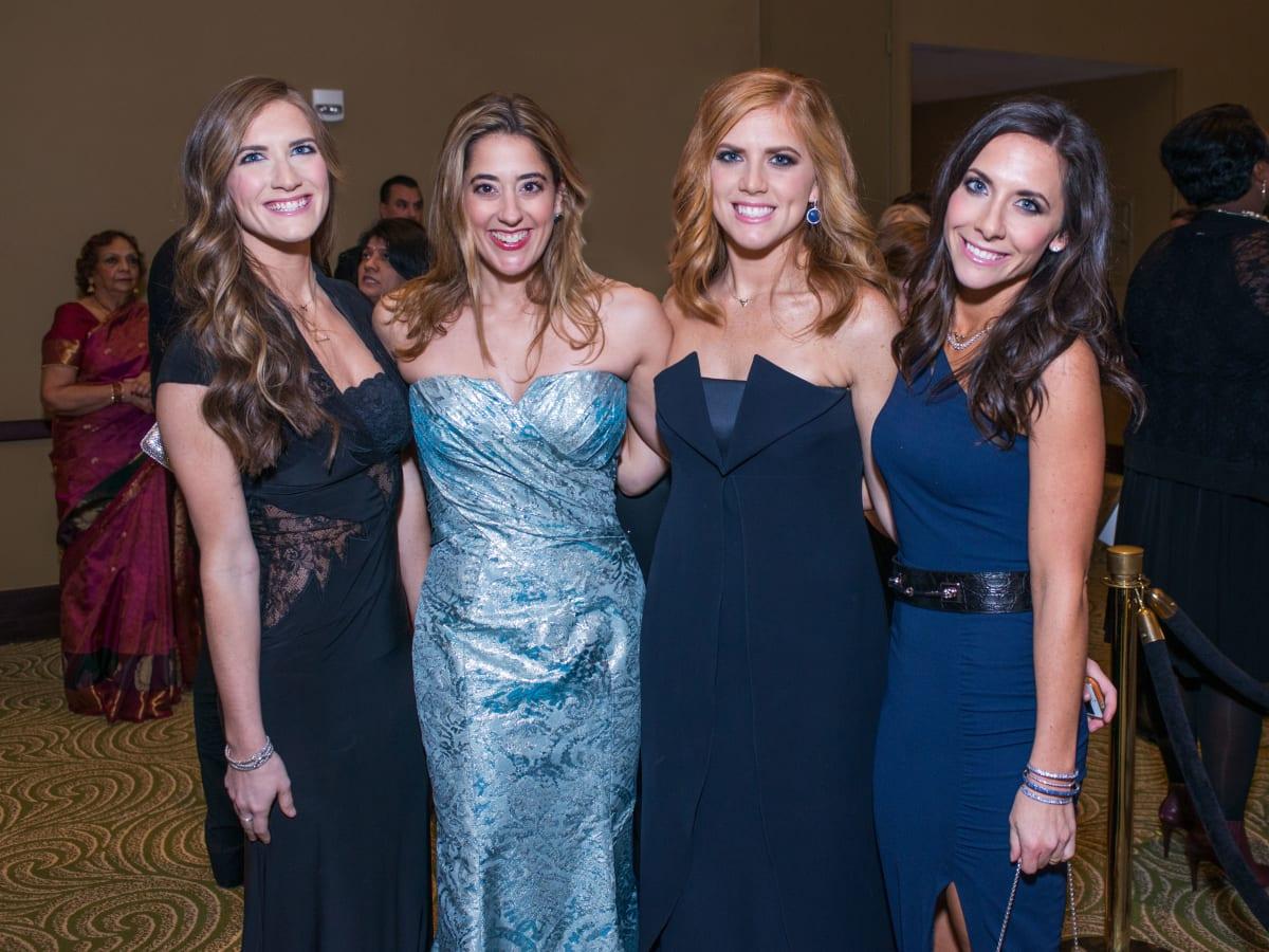 News, Shelby, UNICEF gala, Nov. 2015, Rebekah Hartland, Kristina Sommerville, Amber Hartland, Hannah McNair
