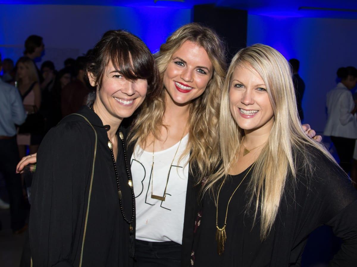 Lori Fox, Ciara Omoghrain, Esther Havens