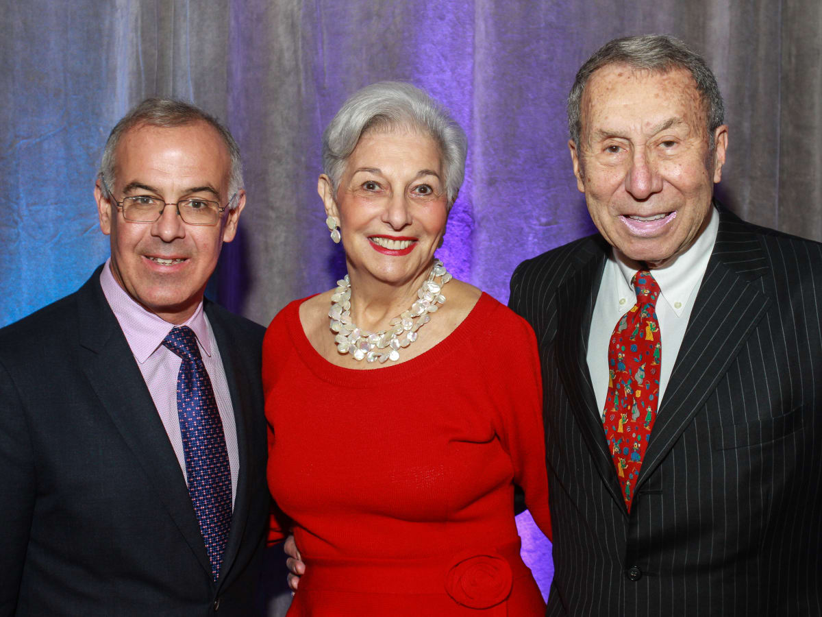 News, Shelby, Holocaust museum luncheon, Nov. 2015,  David Brooks, Velva Levine, Fred Levine.