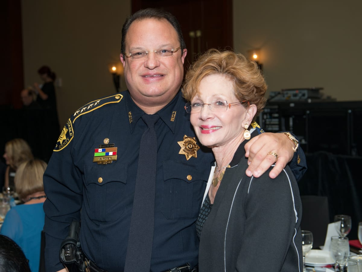 Crime Stoppers Gala Constable Alan Rosen, Diana Brackmann