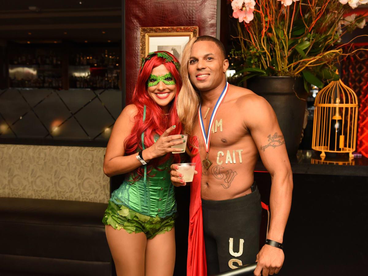 News, Shelby, Hotel ZaZa Halloween, Oct. 2015 Maria Martinez, Anthony Aurhorlee