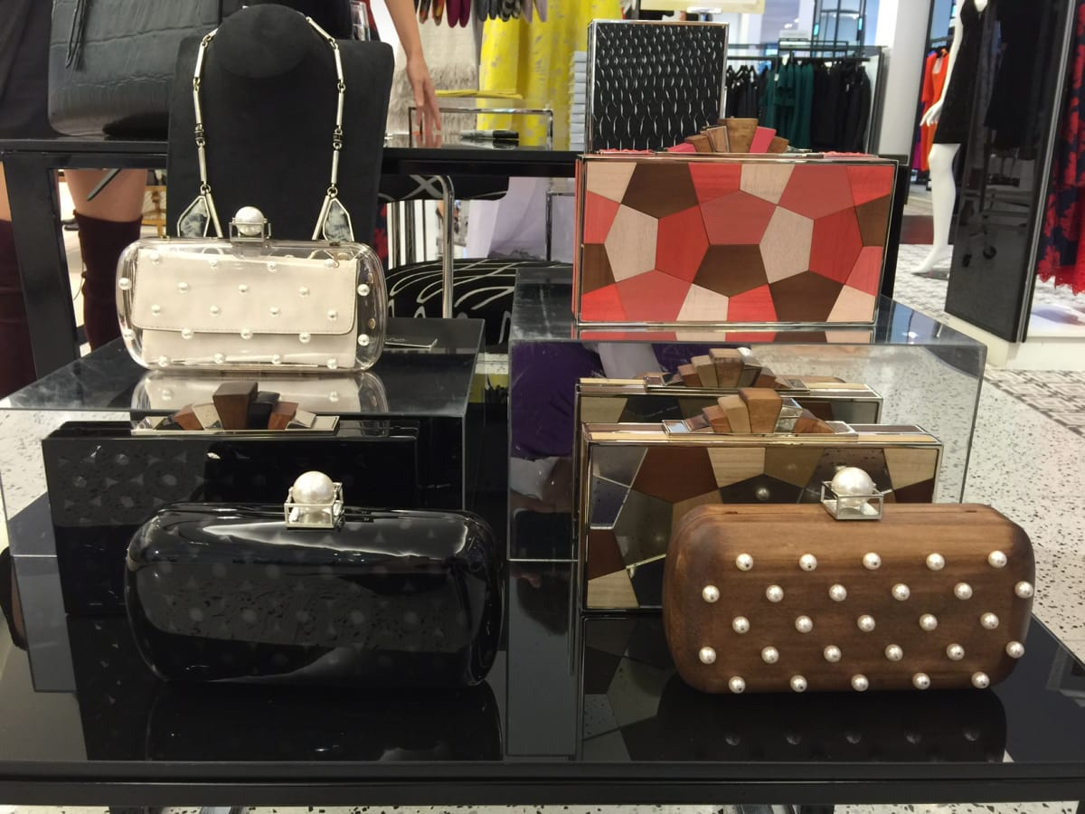 News, Shelby, Lela Rose luncheon, tootsies, Oct. 2015, new clutches
