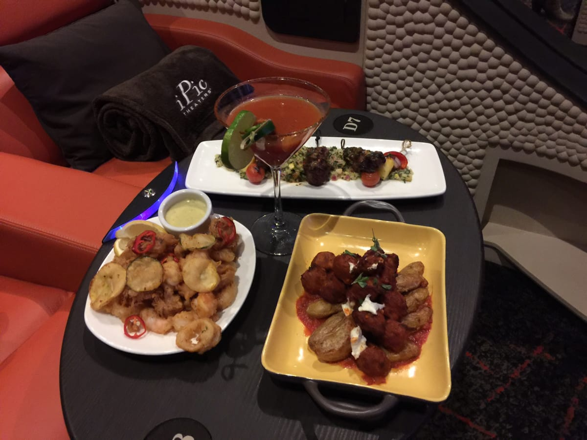News, Shelby, IPic theater, food, Oct. 2015