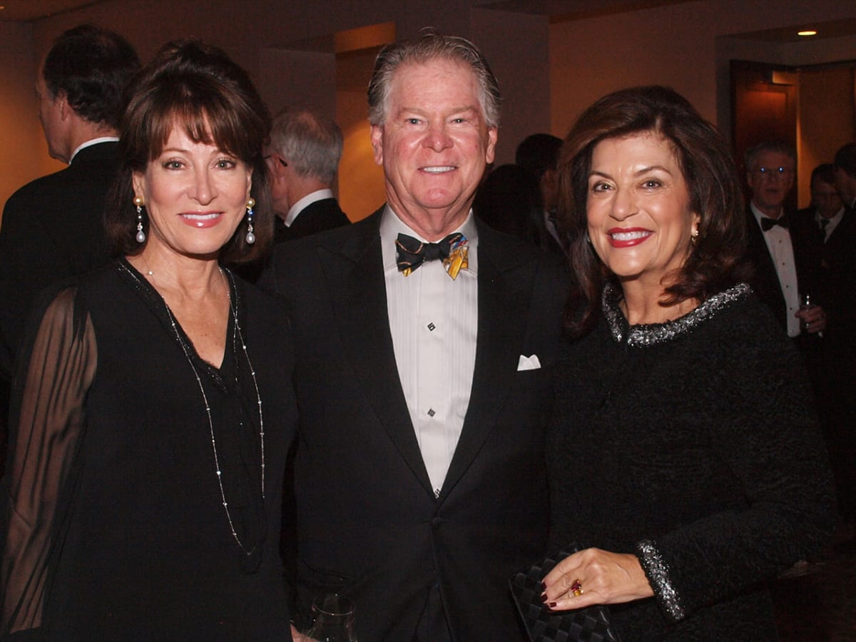 Welch Foundation banquet Janiece Longoria, Steve Lasher, Dancie Ware