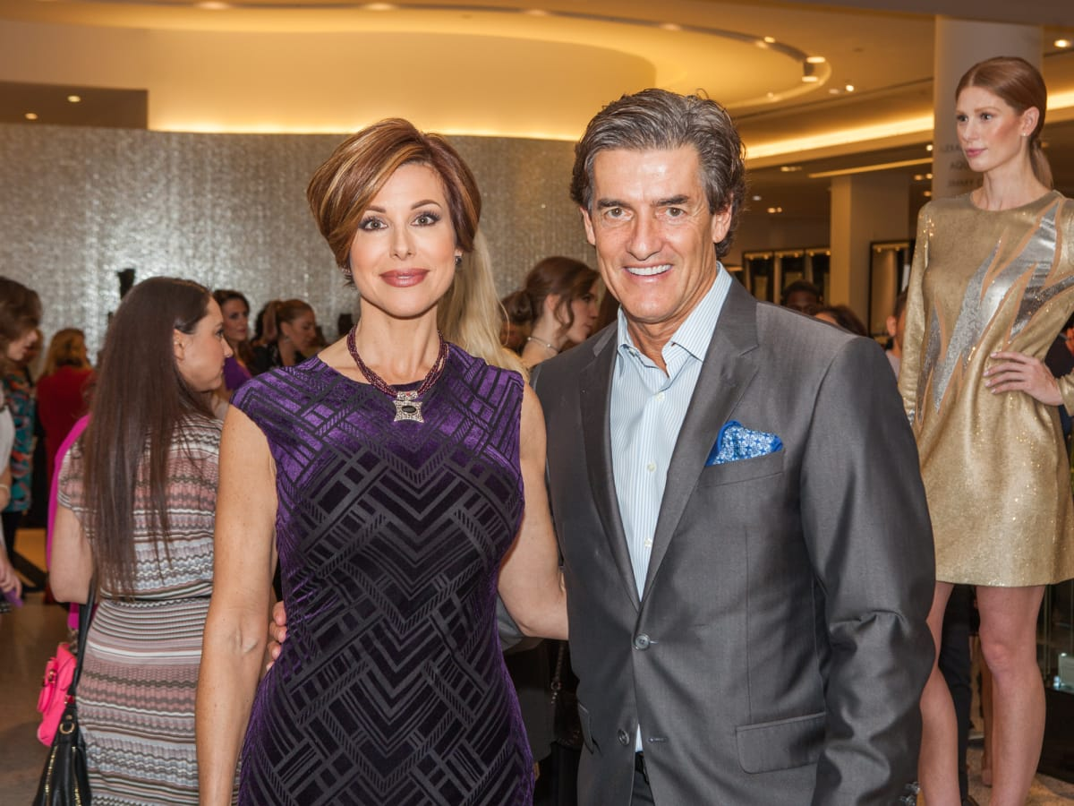 Dominique Sachse, Nick Florescu at Heart of Fashion kickoff party