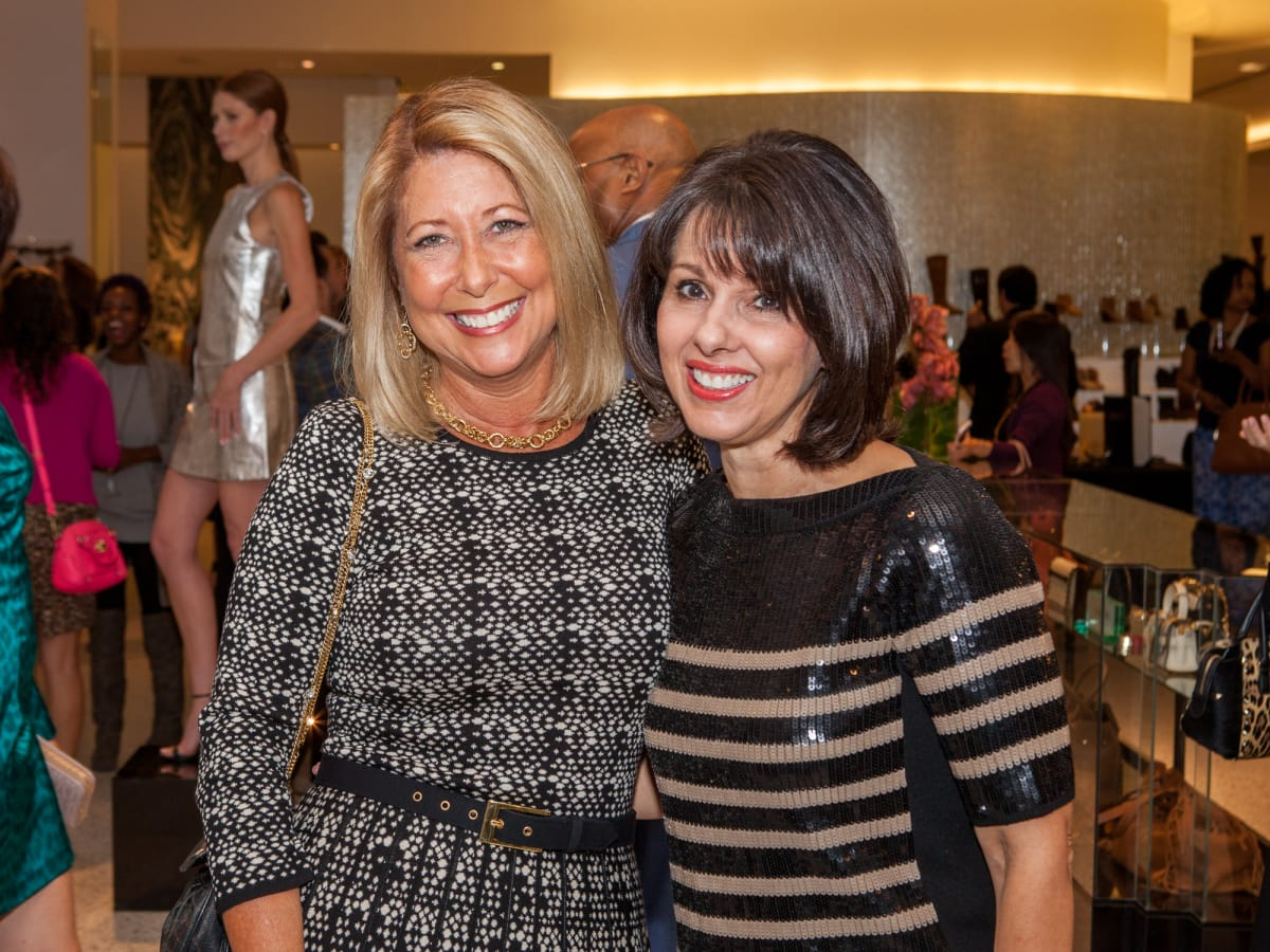 Heidi Rockecharlie, Vicky Norwood at Heart of Fashion kickoff party