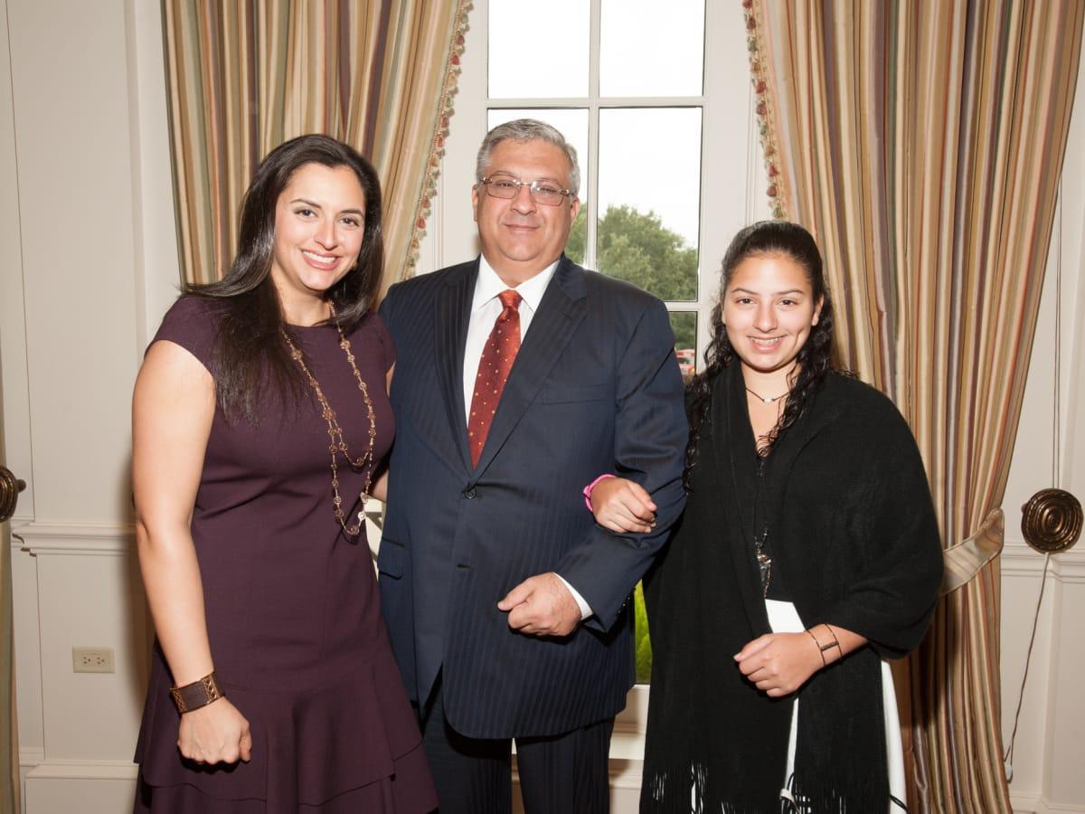 News, shelby, Foundation for Teen Health luncheon, Oct. 2015, Zeina Fares, Nijad Fares, Mia Fares