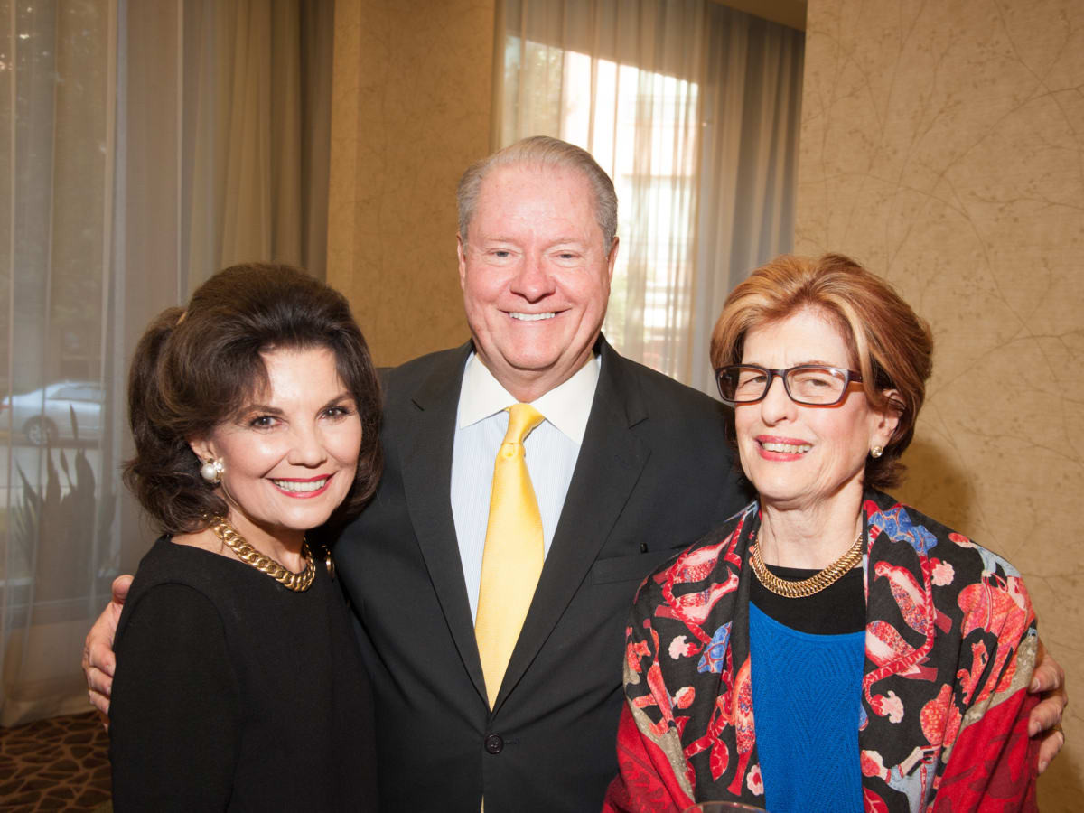 News, Shelby, Women's Fund luncheon, Oct. 2015, Linda McReynolds, John Pitts, Lynn Cutrer