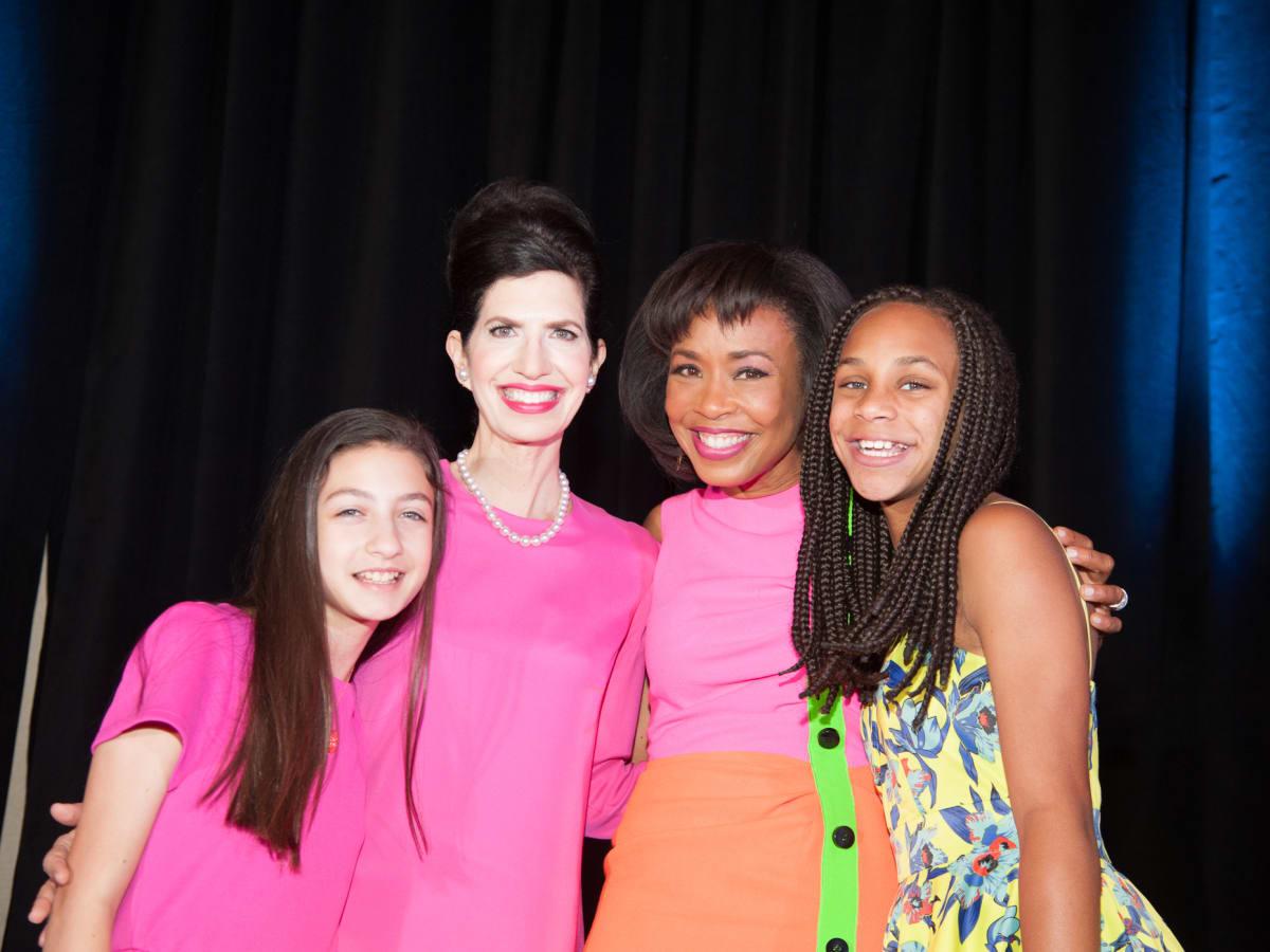 News, Shelby, Women's Fund luncheon, Oct. 2015, Jordan Fein, Kelli Cohen Fein, Gina Gaston Elie,  Lauren Elie
