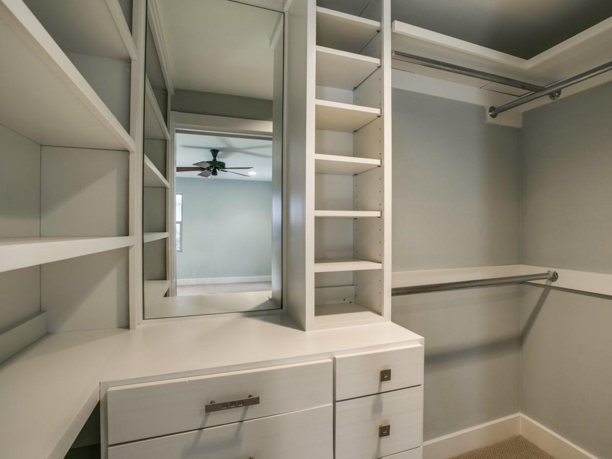 Closet at 3820 Shorecrest Dr. in Dallas