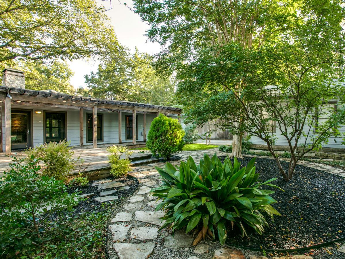 Backyard at 3820 Shorecrest Dr. in Dallas