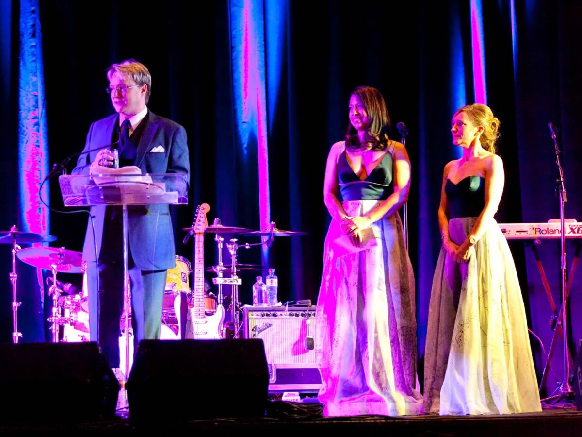 Matt Burrus, Anika jackson, Dena Winkler at Planned Parenthood Gala