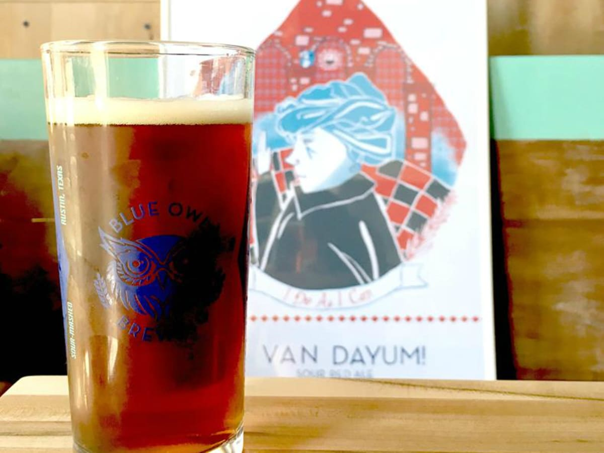 Blue Owl Brewing sour red ale beer Van Daym 2015