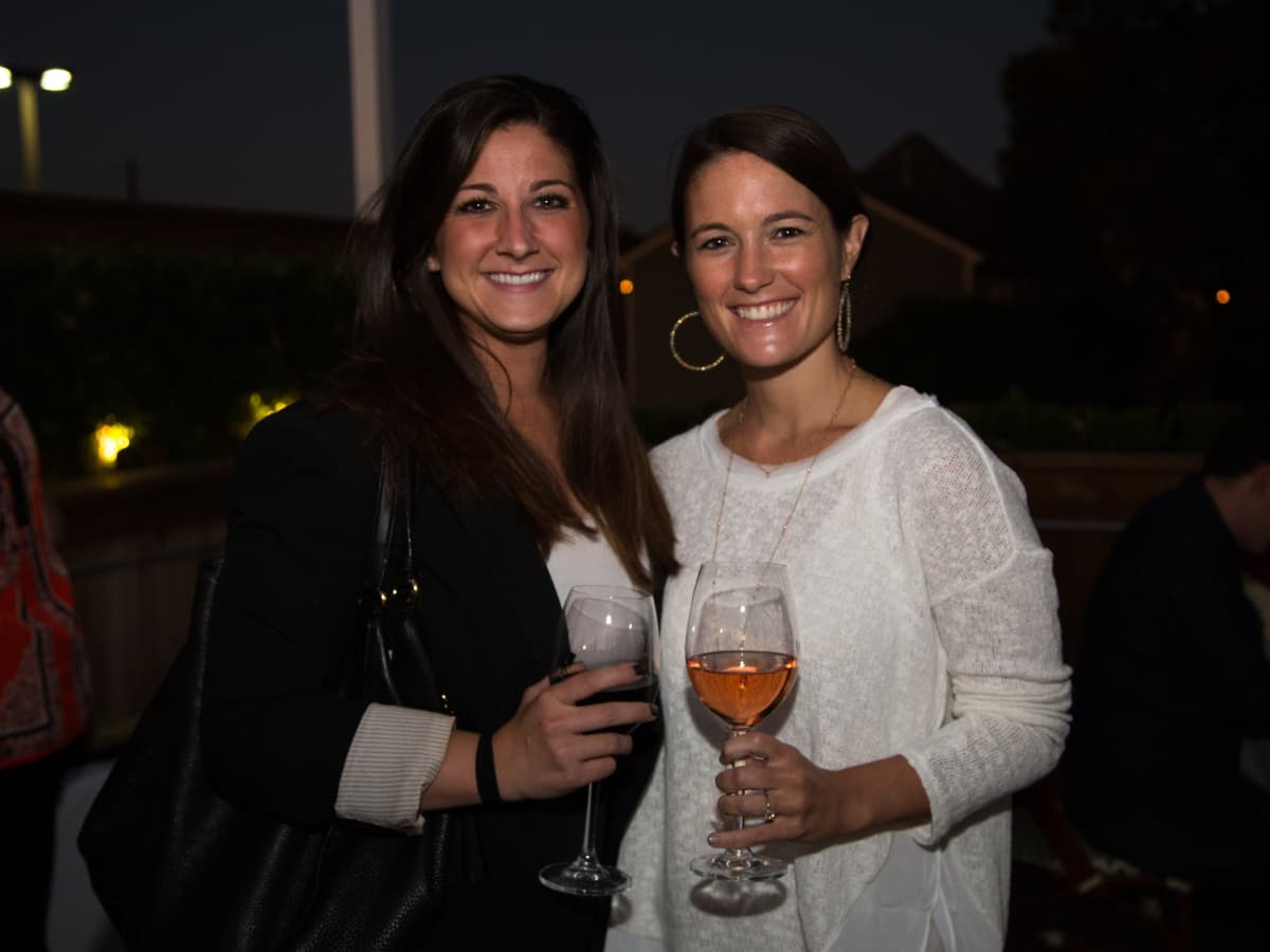 B&B Butchers terrace party Lauren Smith, Callie Anne Holland