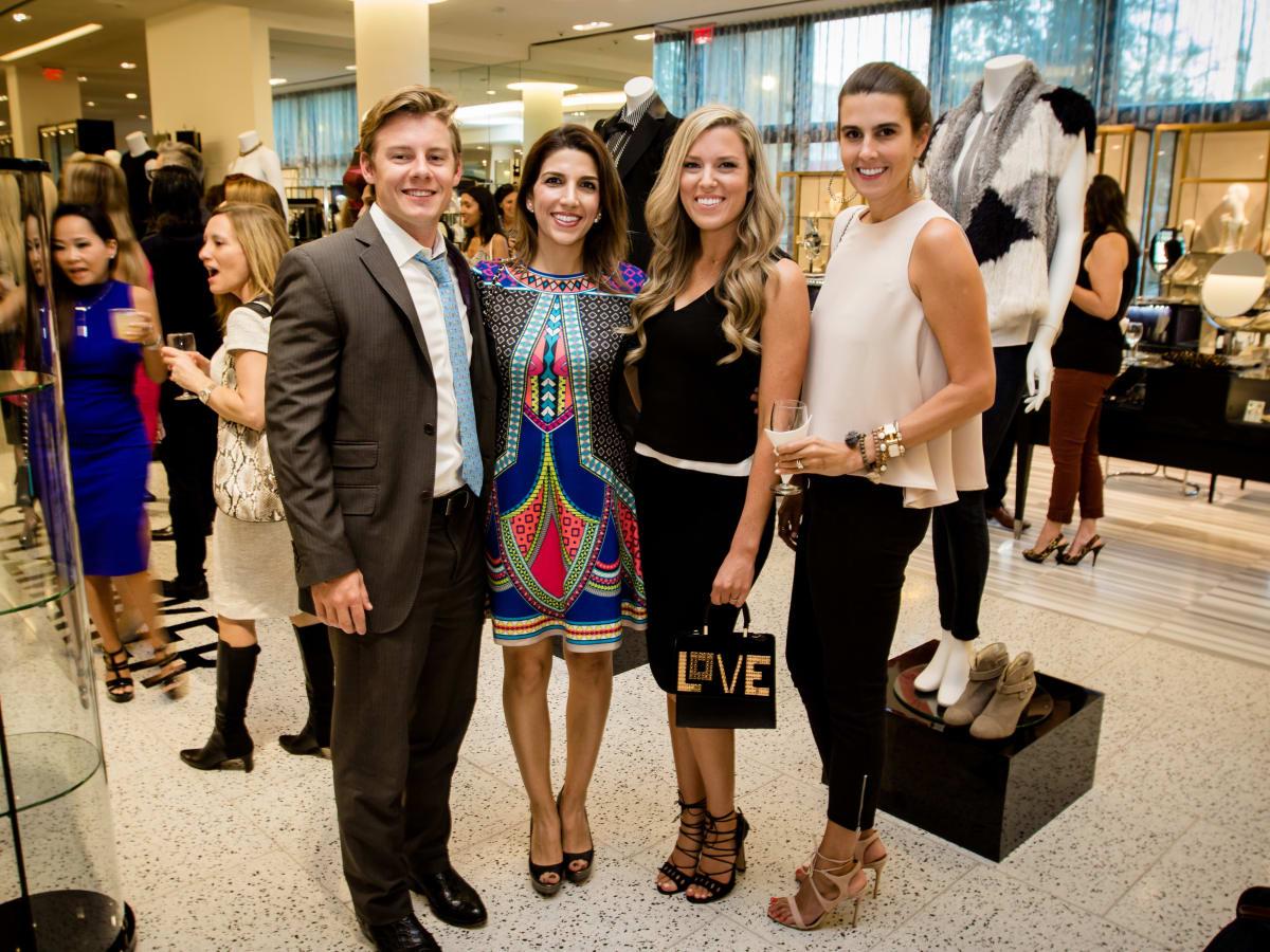 Houston Stylemakers 2015 Austin Alvis, Neekie Kashani, Holly Alvis, Kathryn Swain