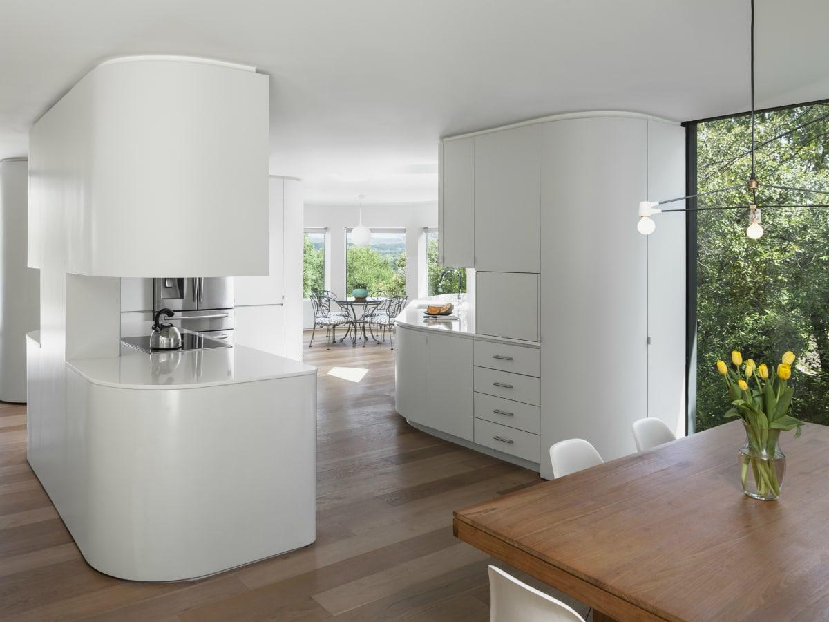 AIA Austin Homes Tour 2015 Arbib Hughey Design kitchen dining