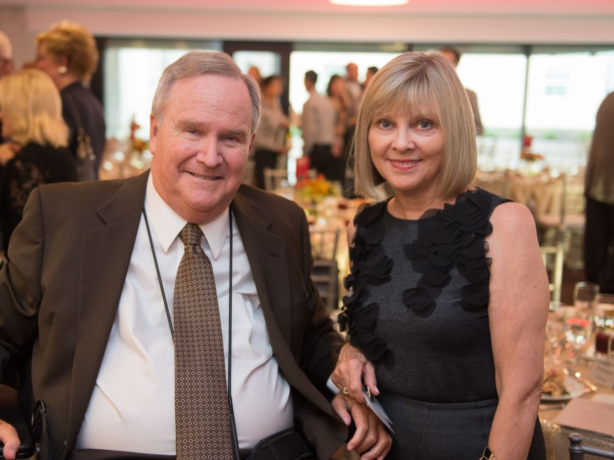 Houston, Alley Theatre opening night, October 2015, Staman Ogilvie, Beverly Ogilvie