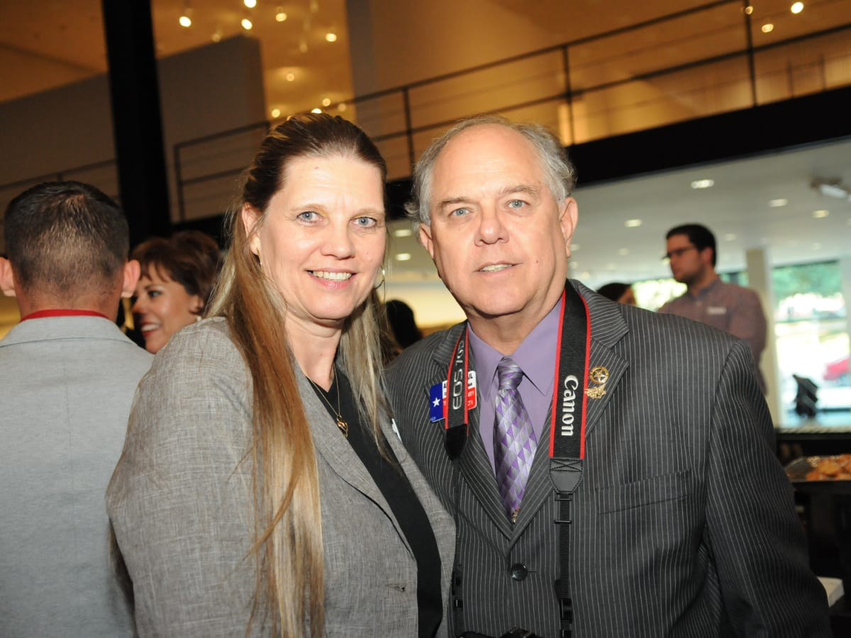 News, Shelby, Mayor's Hispanic Heritage Awards, Oct. 2015,  Linda Jamail, Allan Jamail