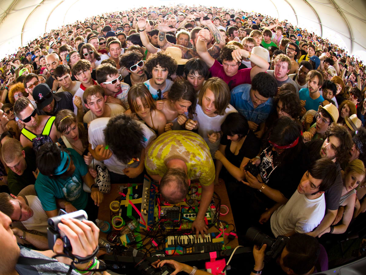 Dan Deacon for Day For Night promo