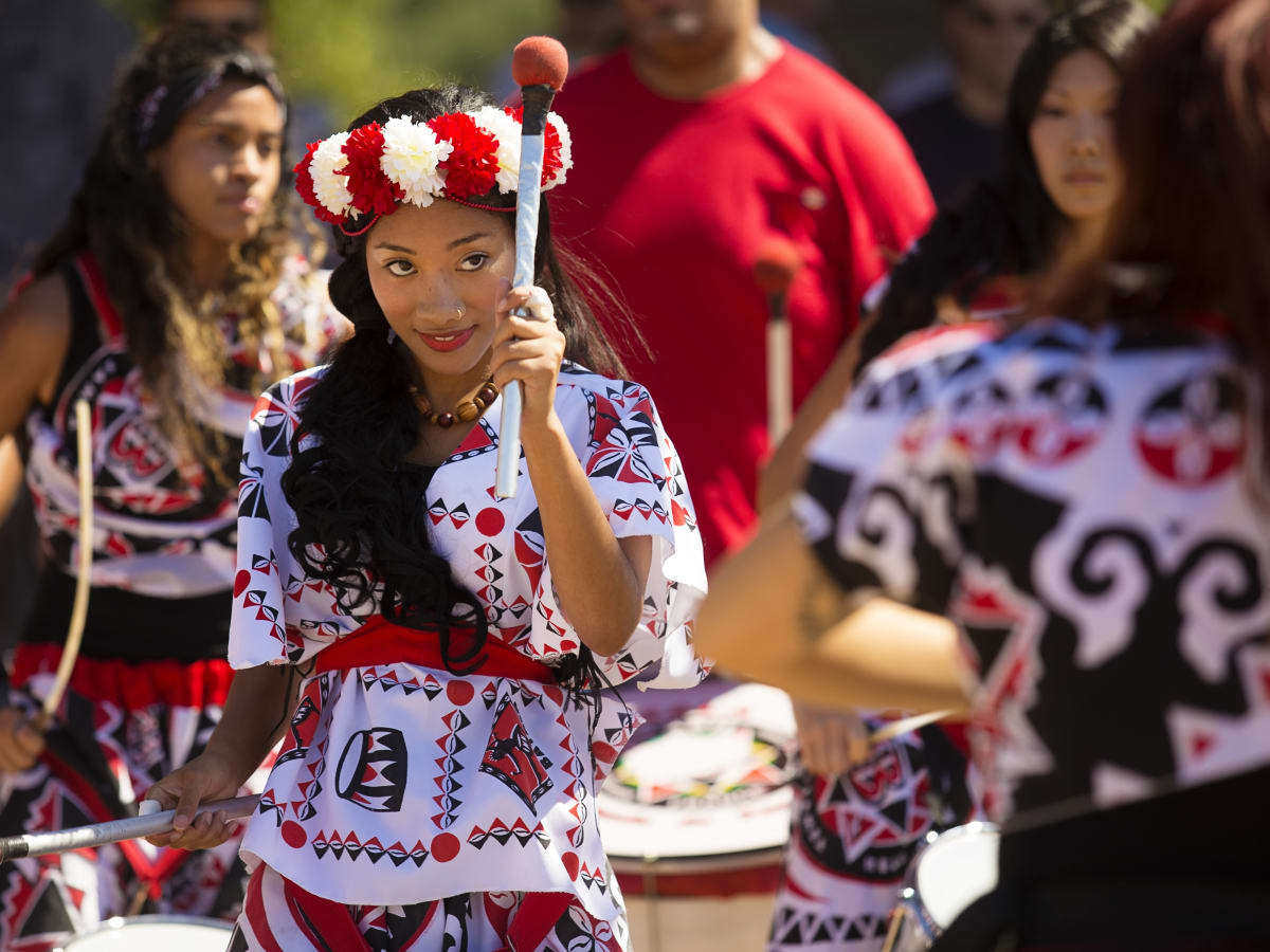 News, Shelby, Buffalo Bayou Park opening, Oct. 2015, Batala Ribbon Cutting