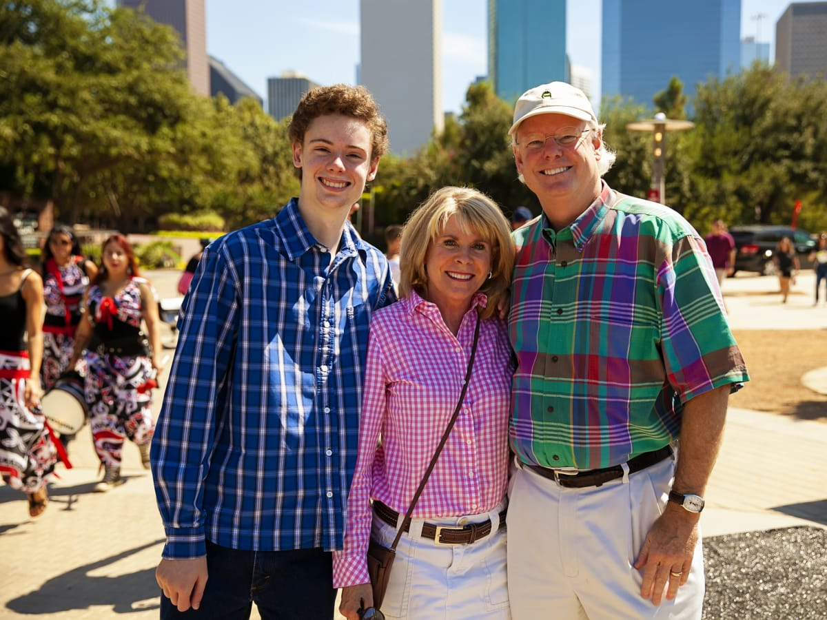 News, Shelby, Buffalo Bayou Park opening, Oct. 2015, Trent, Zane, Brady Carruth