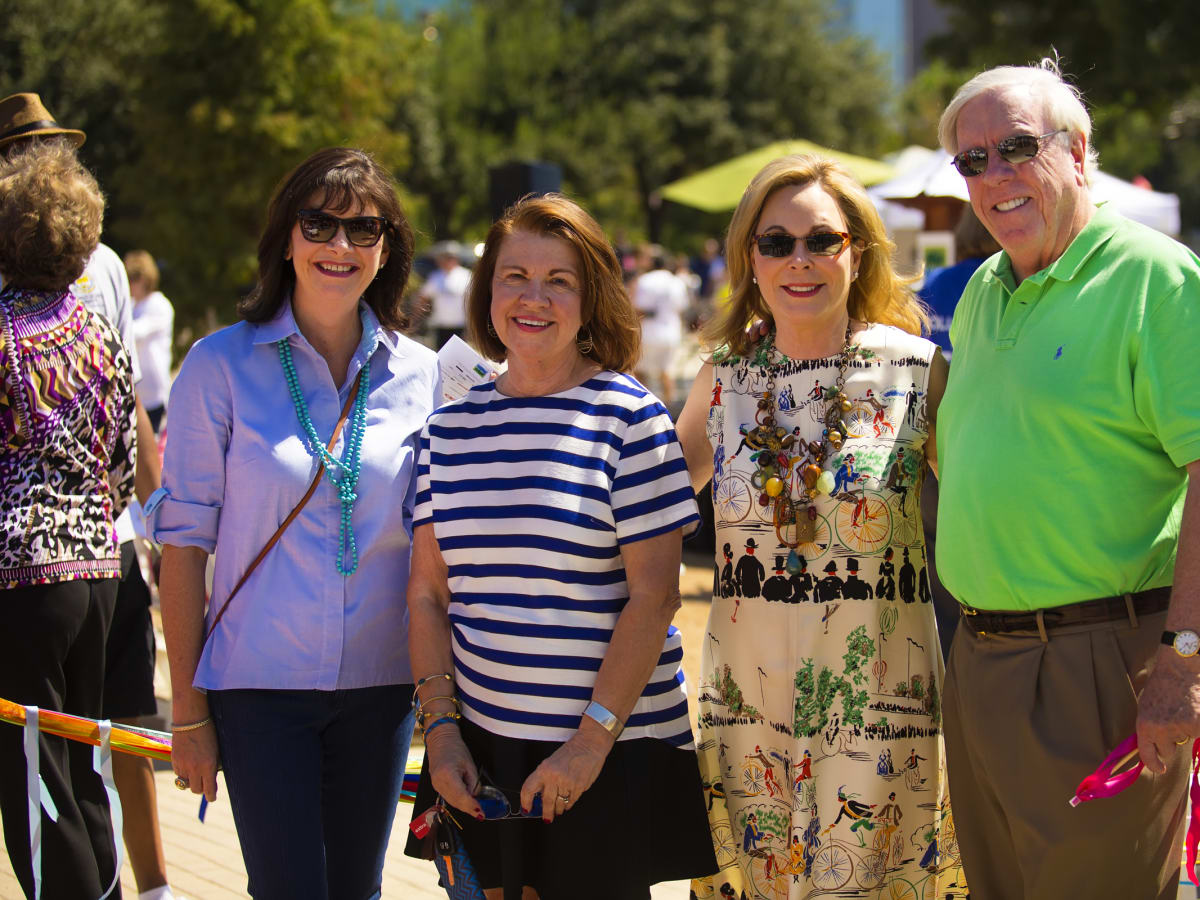 News, Shelby, Buffalo Bayou Park opening, Oct. 2015, Roxanne Neumann, Anne Olson, Nancy Kinder, Rich Kinder