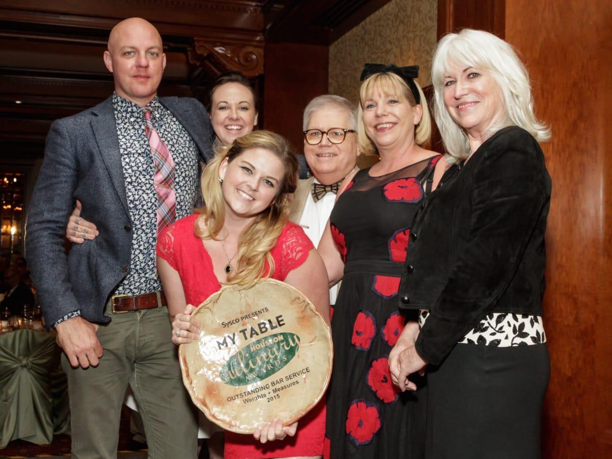 Houston Culinary Awards 2015 Weights Measures Mike Sammons Judith Piotrowski