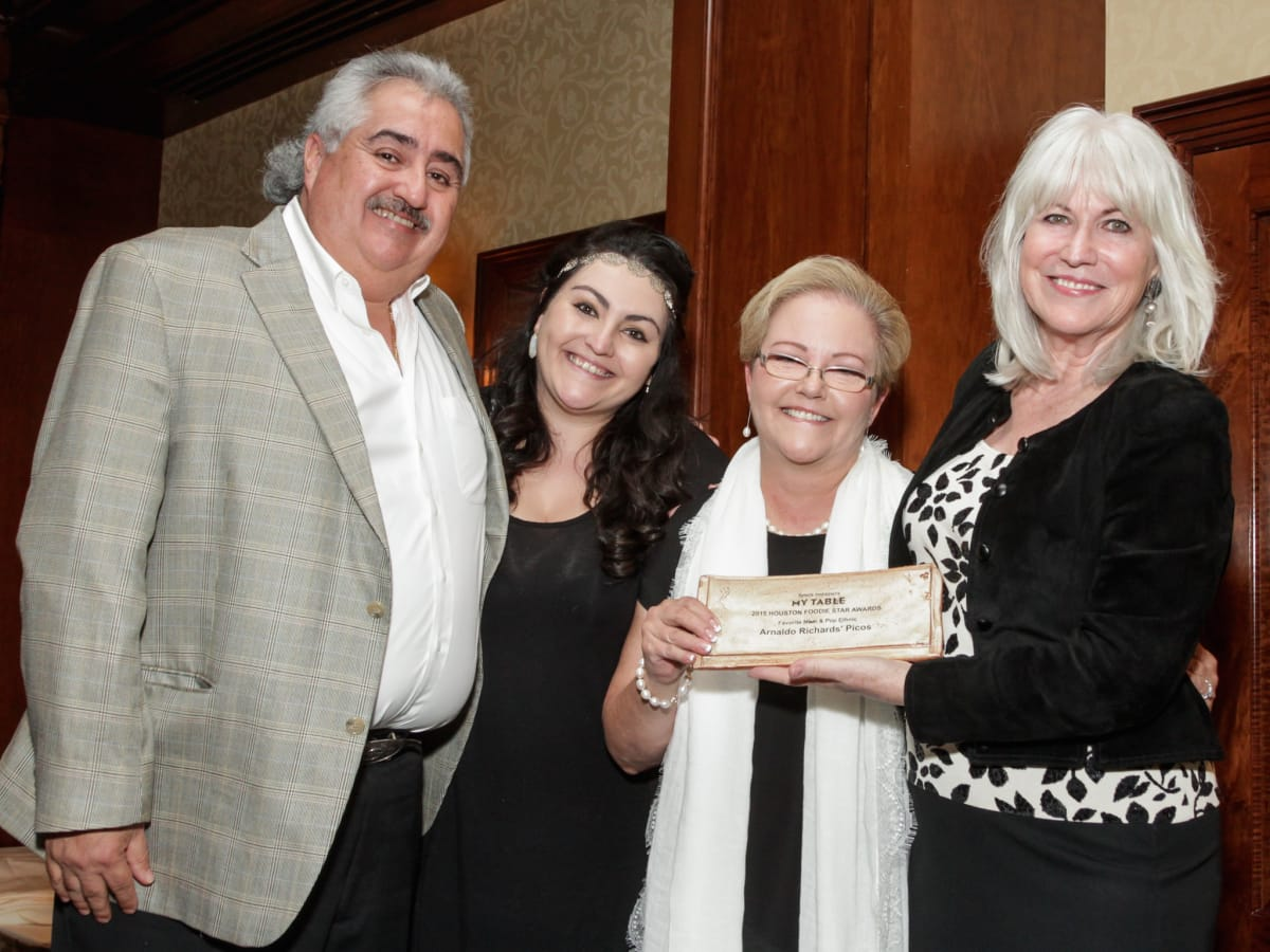 Houston Culinary Awards Arnaldo Richards Picos