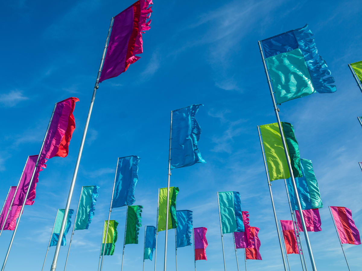 Austin City Limits Festival ACL 2015 Weekend One Best Signs Best Flags Multicolored Flags