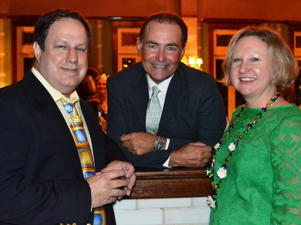 Houston, No-Tsu-Oh gala, September 2015, Mike Vance, Orlando Sanchez and Anne Vance.