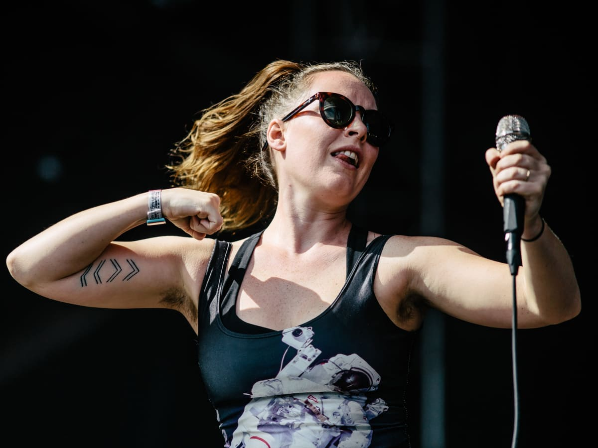 Austin City Limits Festival ACL 2015 Weekend One Day Three Sylvan Esso
