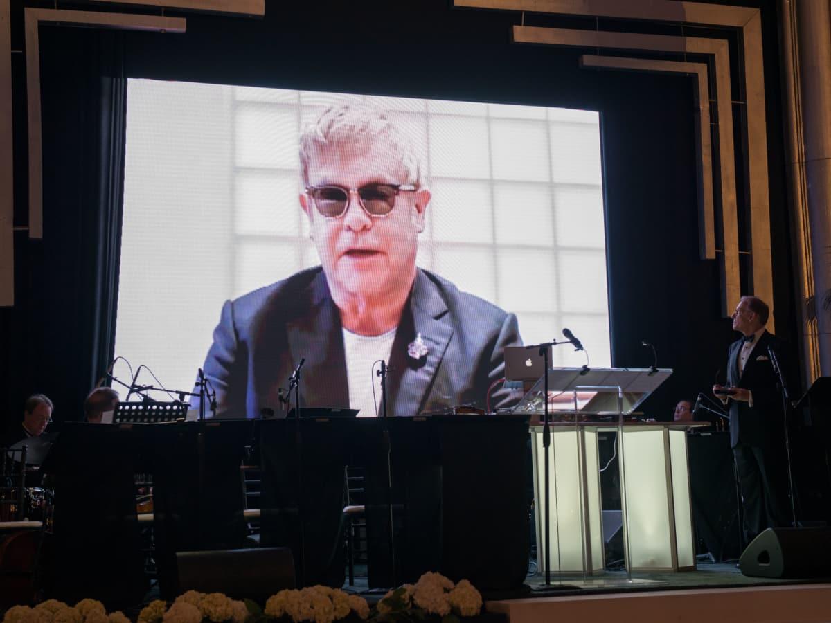 News, Shelby, Museum of Fine Arts gala, Oct. 2015, Elton John