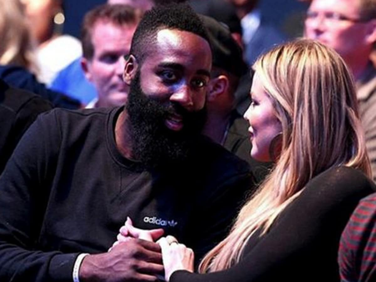 Houston, James Harden and Khloe Kardashian, September 2015, UFC Fights