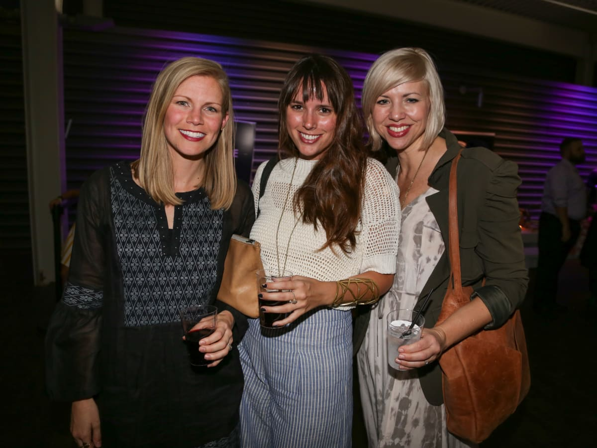 Tribeza Fashion Show 2015 at Brazos Hall Lauren Daniel Leslie Russell Kirsten Dickerson