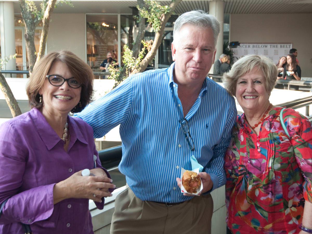 News, Shelby, Cancer Below the Belt, Sept. 2015, Susan Wishlinski. Dc Peterson. Sharon Staley