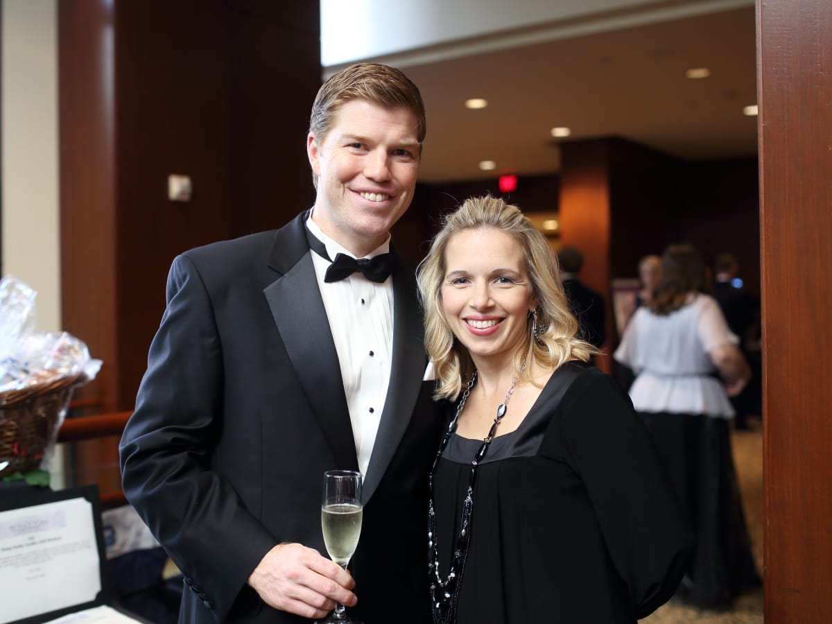 Big Brothers Big Sisters gala 2015 Ryan and Jessica McCauley