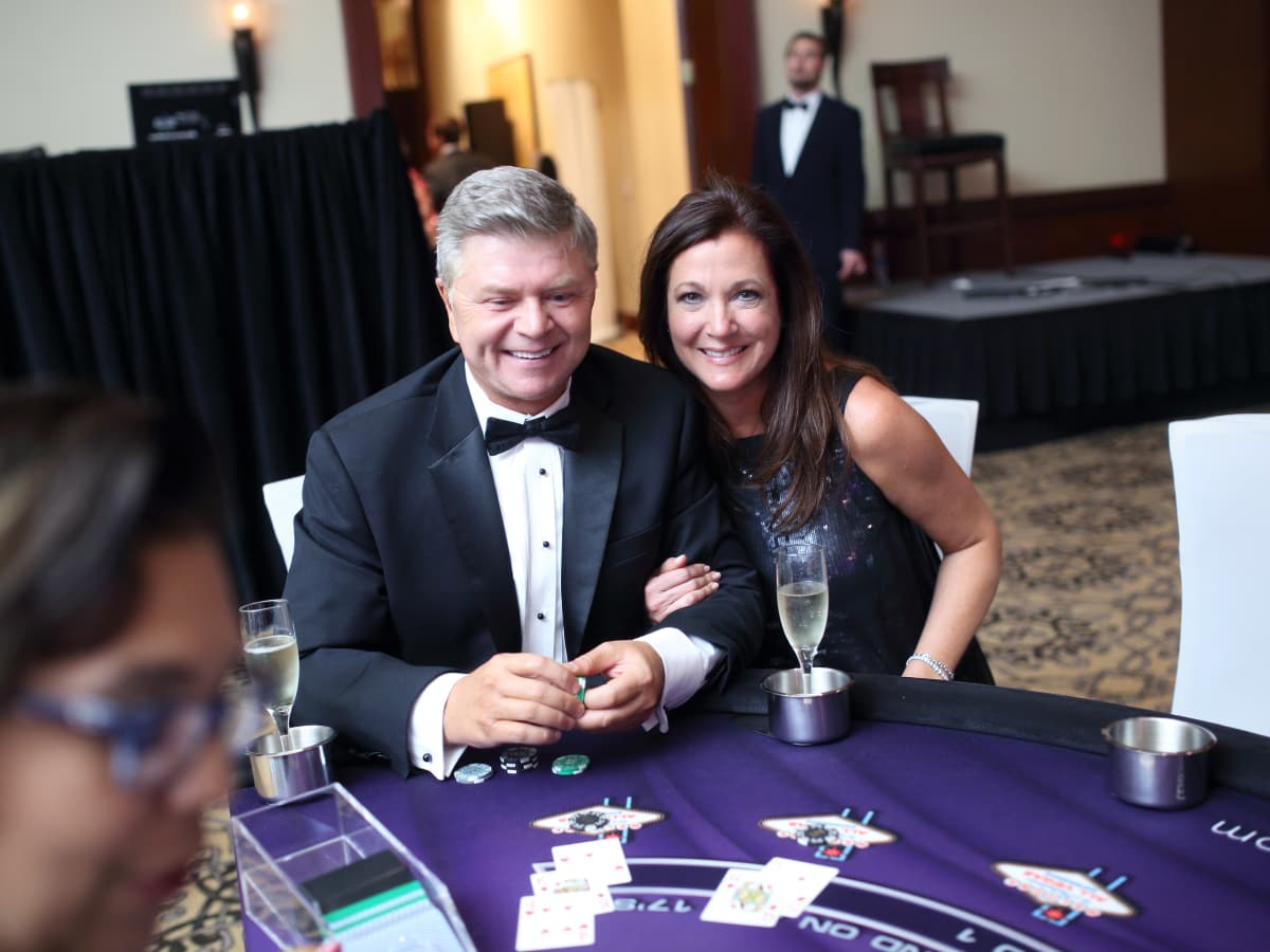 Big Brothers Big Sisters gala 2015 Jim Pearson and Gina Curtis