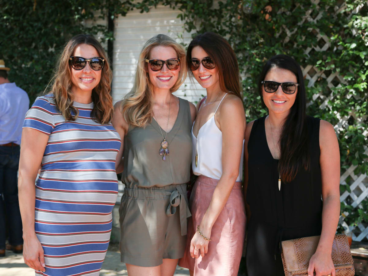 Tribeza Style Brunch 2015 at Justine's Brasserie Megan Chiefa Marnie Duncan Katherine Spiller Dani Lachowicz