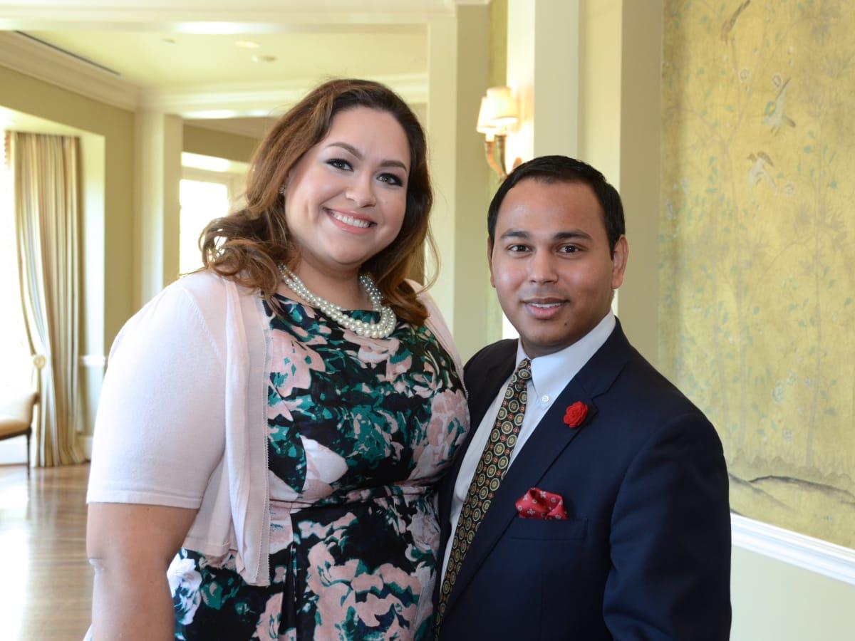 PDAP event Sept 2015 Laurel Flores, Clint Sosa