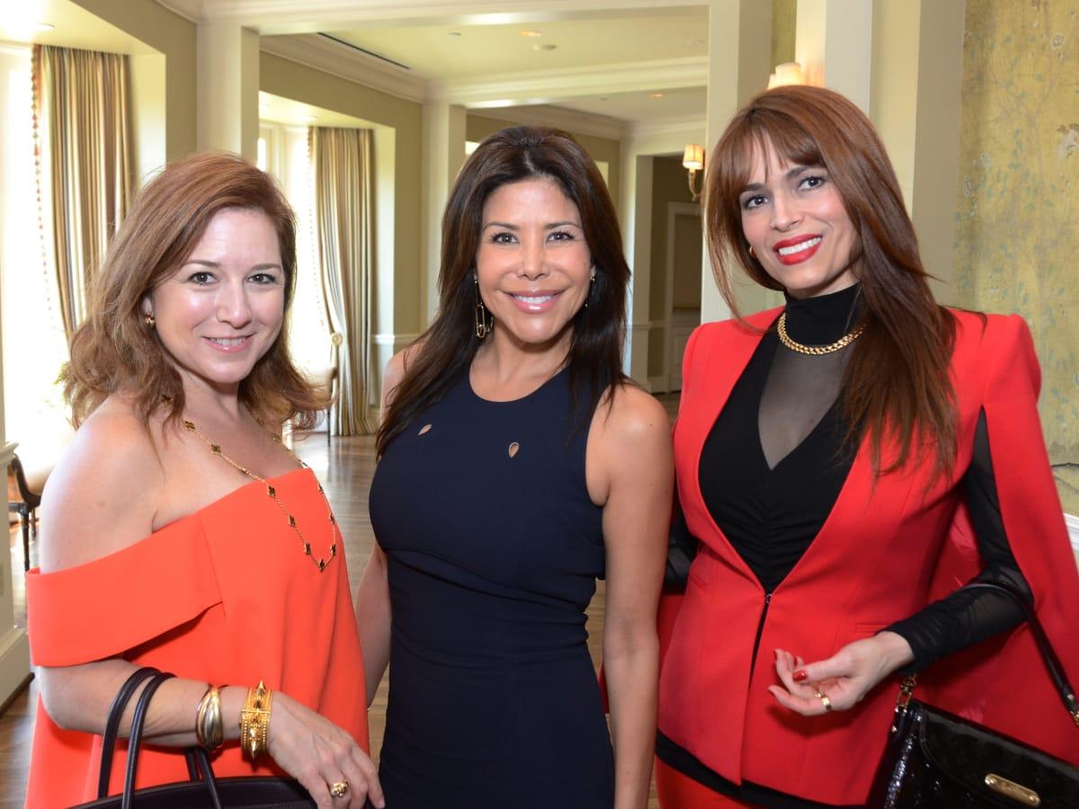 PDAP event Sept 2015 Donae Cangelosi Chramosta, Ericka Bagwell, Karina Barbieri