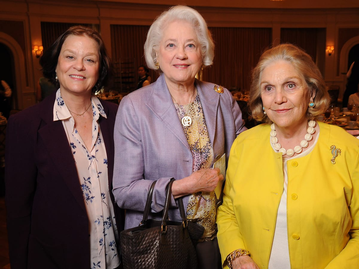 News, Shelby, Houston Botanic Garden Lunch, Sept. 2015, Loretta Thomas Spates, Nancy Thomas and Carrie Horne