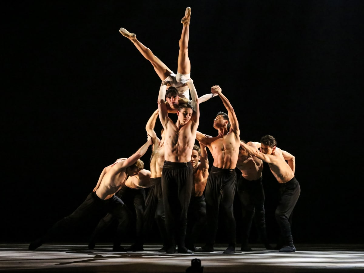 Karina Gonzalez and Artists of Houston Ballet in Reveal