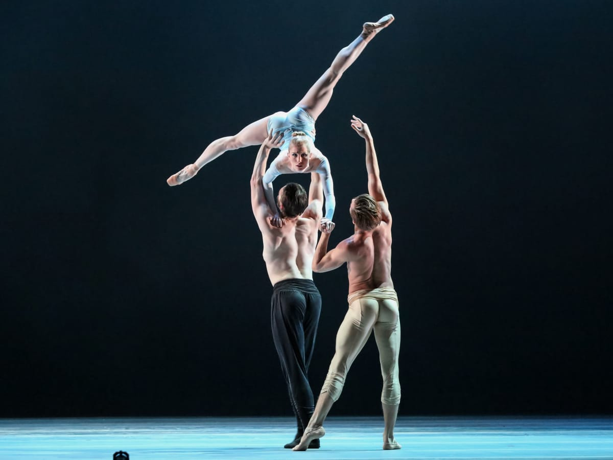 Katelyn May and Artists of Houston Ballet in Reveal