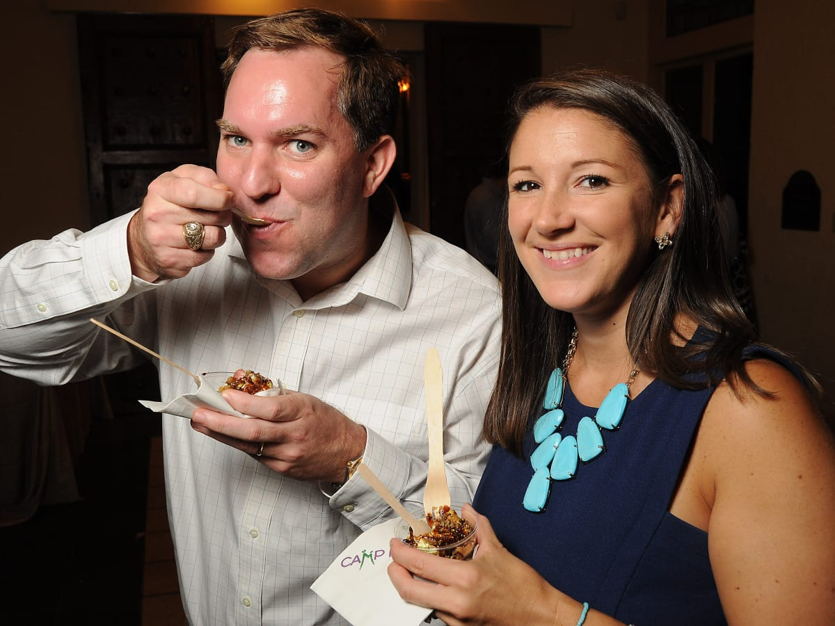 News, Shelby, Camp for All Camp Culinary, Sept. 2015, Will and Elizabeth Eggleston