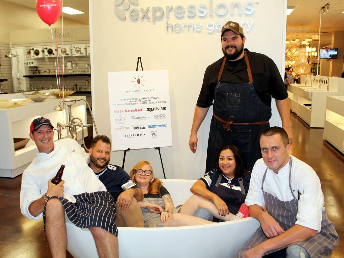 Chef Patton Robertson, Chad Houser, Chef Danyele McPherson, Chef Jacob Williamson, Chef Nathan Tate